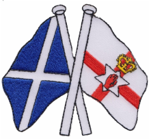 Scotland & Northern Ireland Friendship Embroidered Patch A430